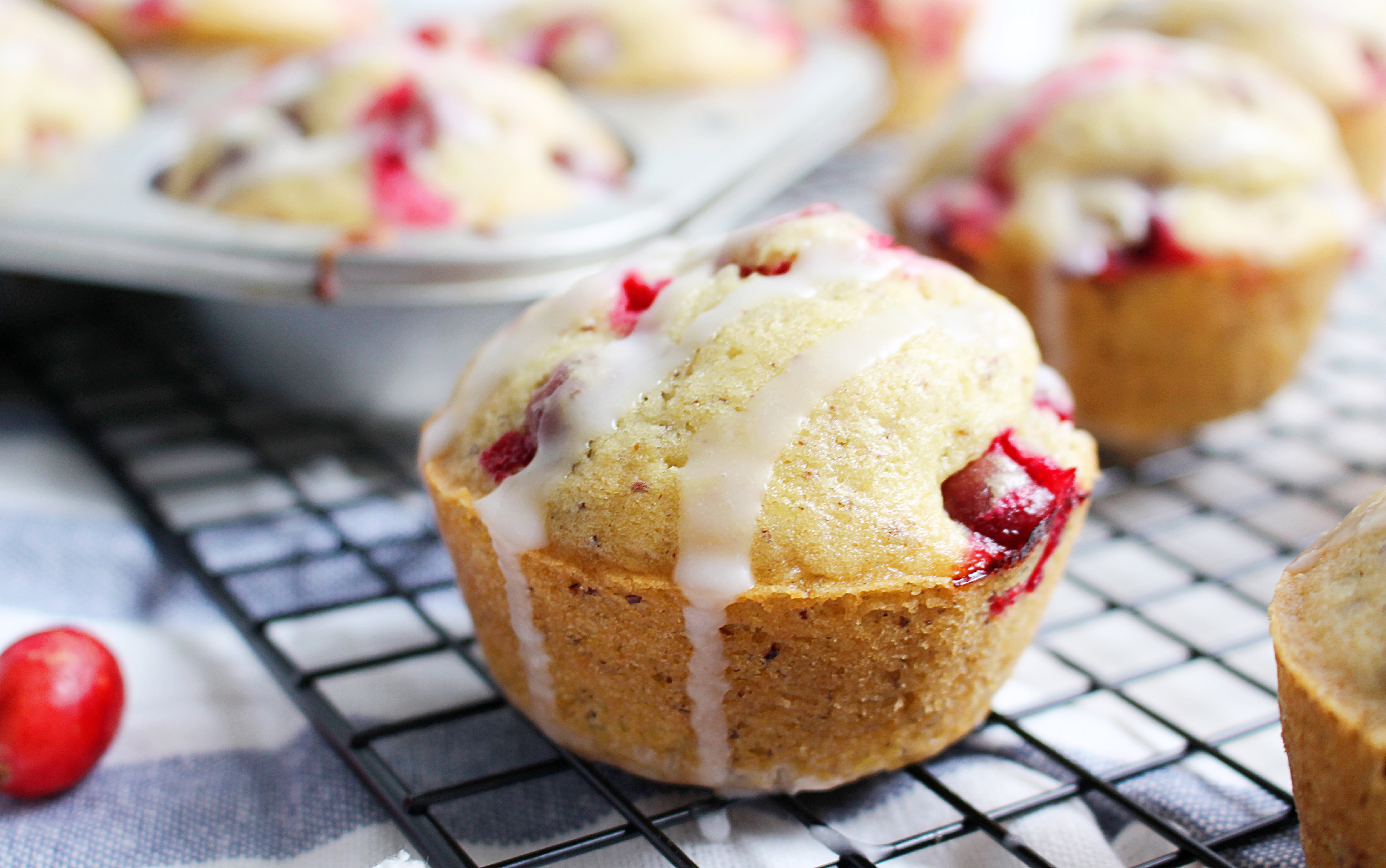 Try These Vegan Cranberry Lemon Muffins For Mother's Day